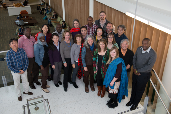 CSU's School of Global Environmental Sustainability hosts a Dryland Sustainability Workshop with participants from Kenya, Mongolia and the United States. January 30, 2015