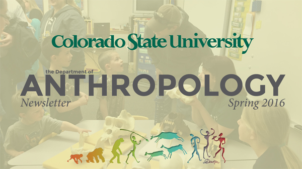 Anthropology Newsletter Header SP16