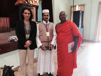 Dr. Tellechea co-organized an International  Conference on Religious Tolerance and Harmony with Buddhist and Pali University of Sri Lanka sponsored by the U.S. Embassy in Colombo.