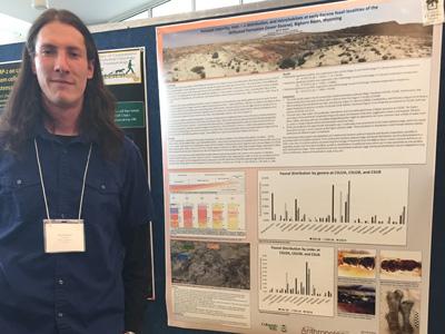 Paleontology Field School_Ben Rodwell CURC 2016