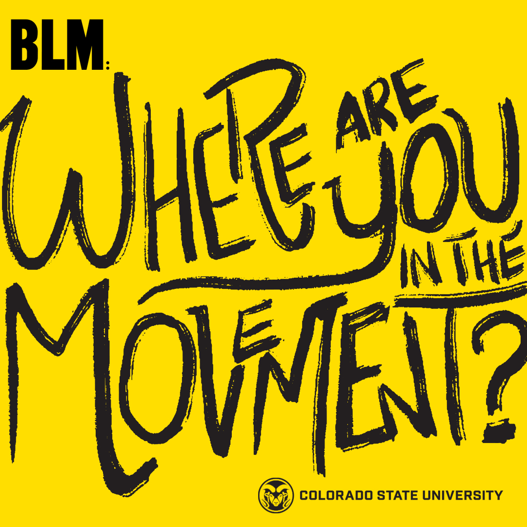BLM Where are you in the Movement Identity