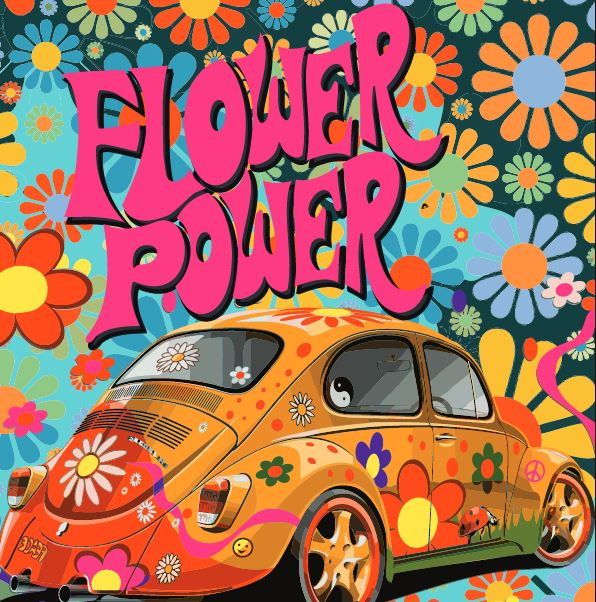 Art Car Museum >> University Art Museum Flower Power and Summer Mystery Art ...