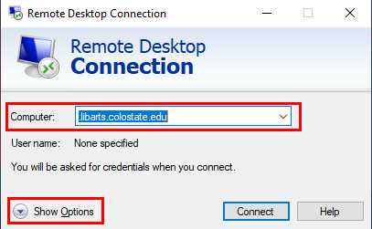 Remote Connection screenshot
