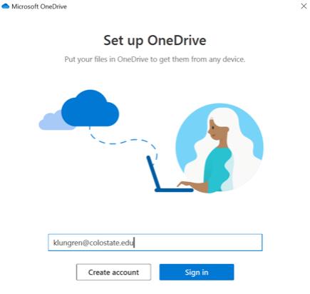 OneDrive Signin