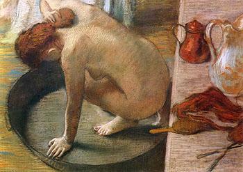 """Le Tub,"" Degas"