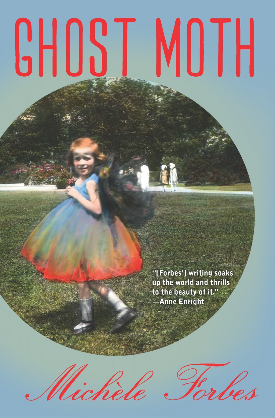 """Cover of """"Ghost Moth"""" by Michèle Forbes"""