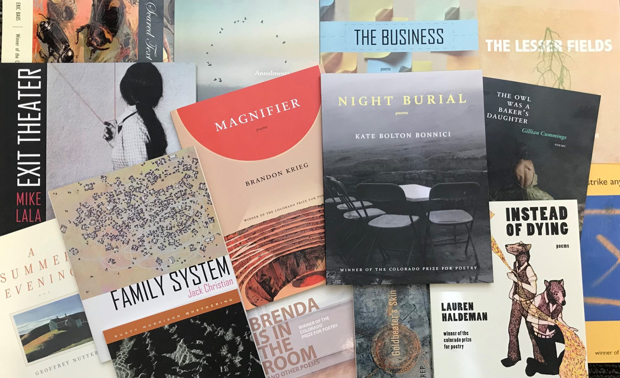 Colorado Prize for Poetry Books