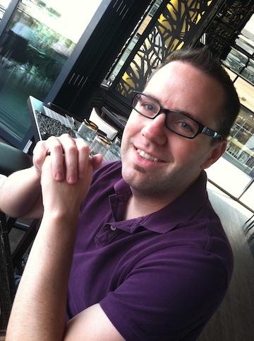 Associate professor Tom Dunn portrait image