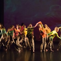 The Colorado State University Dance Program rehearses for the Fall Dance Concert, November 12, 2015.