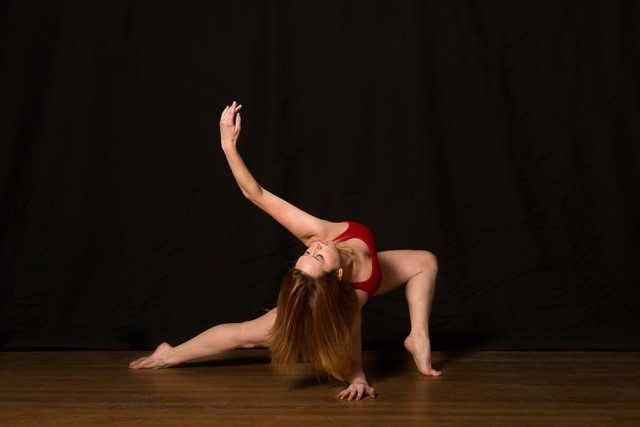 Female dancer, Shannon McGee