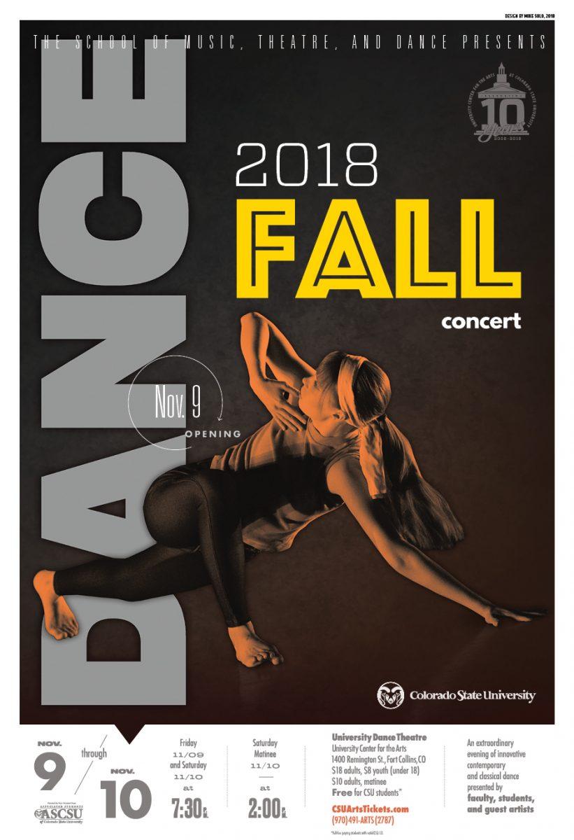 2018 Fall Dance Concert