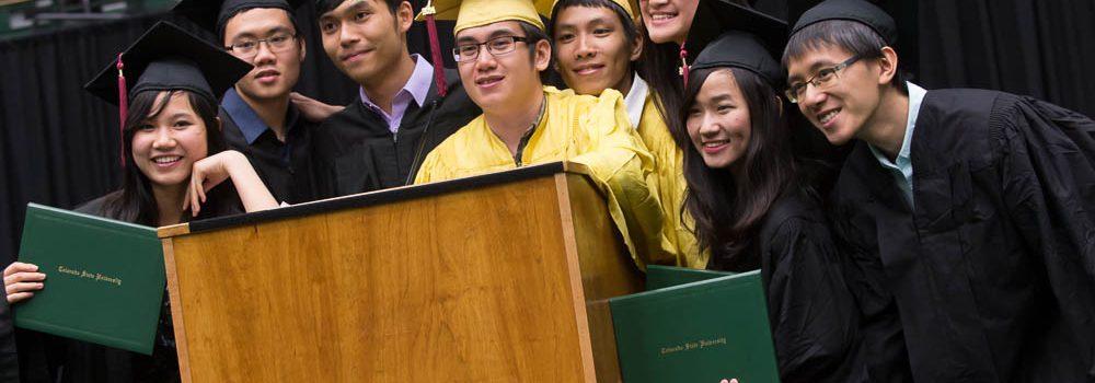 Foreign Trade University graduation