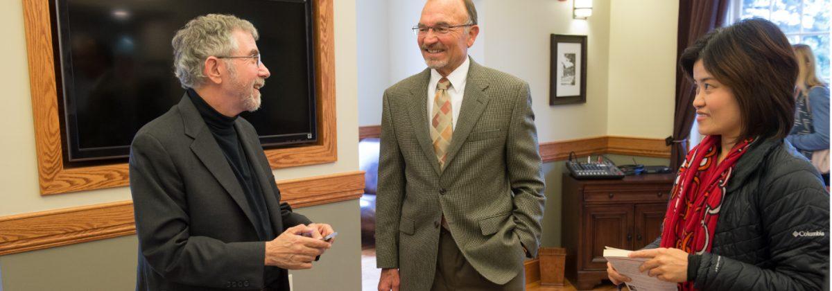 Dr. Paul Krugman, Dr. Bob Keller and Dr. Cher Li