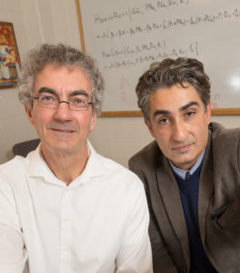 Professor Dave Mushinski and Professor Sammy Zahran