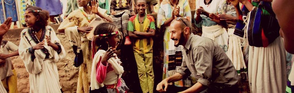 PCMI Student Peter Garrison in Ethiopia