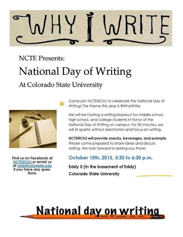 national day of writing