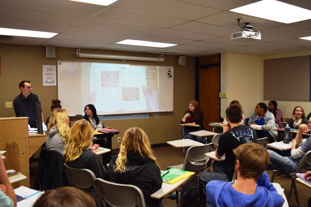 Assistant Professor teaching Adolescent Literature