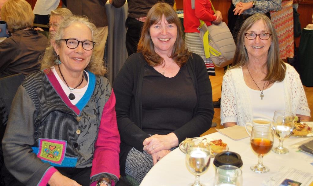 Sue Russell, Sheila Dargon, and Bev McQuinn