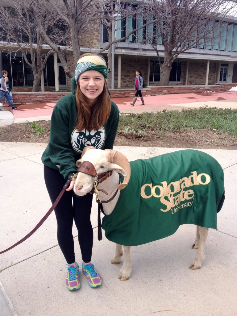 Ashley Alfirevic and Cam the Ram