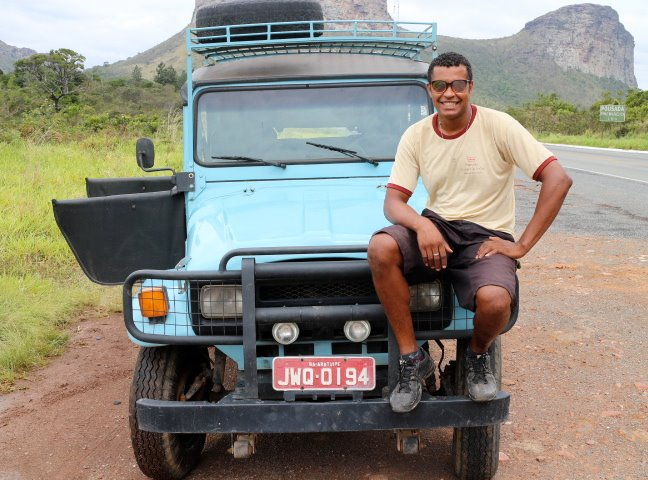 Mustaffah, the driver