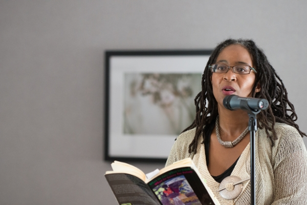 One of our favorite poets, Camille Dungy, reading some of her poetry.
