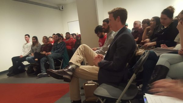 The audience for the reading