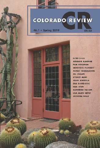 Cover of Spring 2019 Issue of Colorado Review