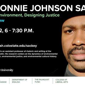 Donnie Johnson Sackey event flyer