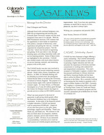 Cover image of the Ethnic Studies Newsletter for 2005