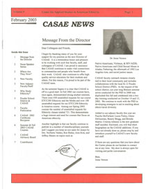 Cover image of the Ethnic Studies Newsletter for 2003