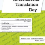 Translation flyer