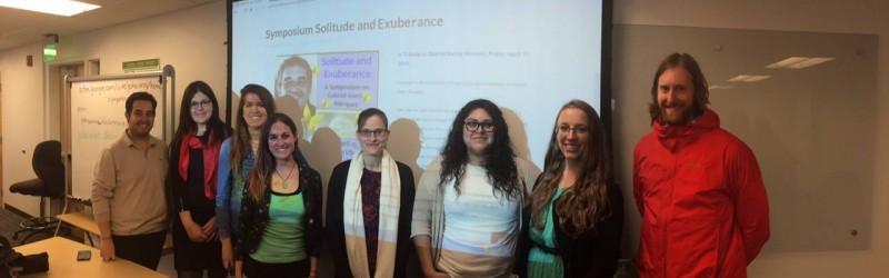 Graduate student presentations