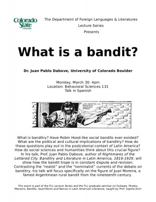 FLL Talk What is a bandit? Announcement