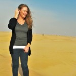 CSU alumna living in United Arab Emirates