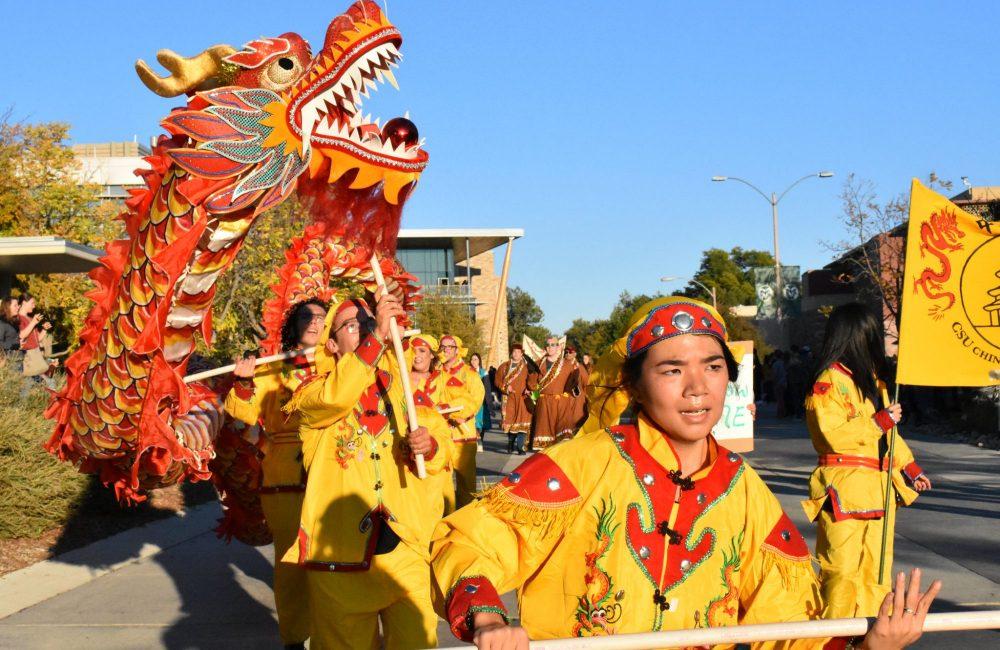 Chinese Club, fierce dragon