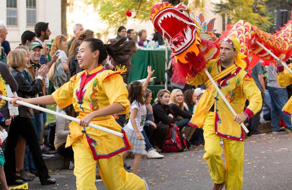 Chinese Club Homecoming Parade