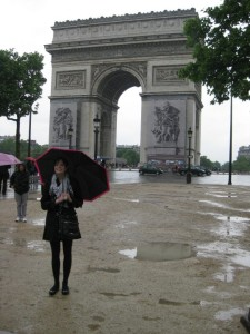 CSU alumna in Paris