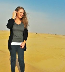 CSU alumna living in United Arab Emirates