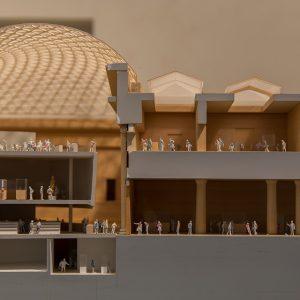 Building model of a university