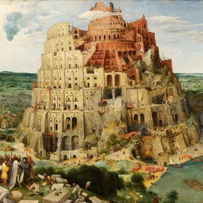 Pieter Bruegel,The Tower of Babel (Vienna)