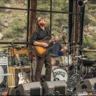 Jason Downing performs with his band. ©Jay Blakesberg