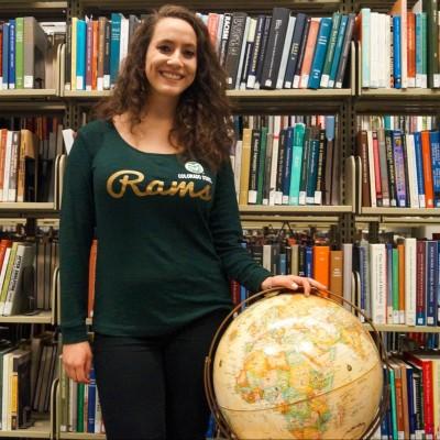 Ethnic studies student Nataleah Joy (photo by Caio Pereira).