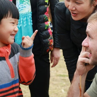 David Bonomo in China