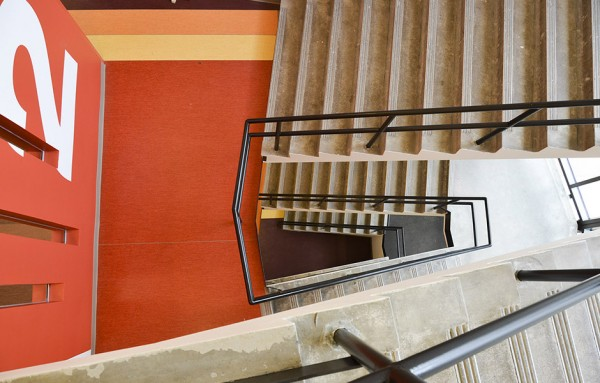 Eddy Hall Staircase photo