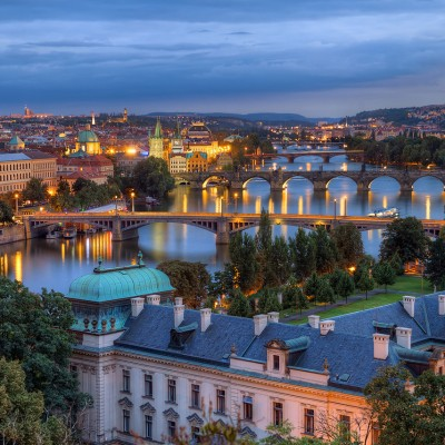 An image from Prague.