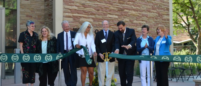 Ribbon cutting of Eddy Hall