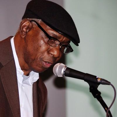 Yusef speaks at the National Book Critics Circle Awards in 2012. Photo credit: David Shankbone