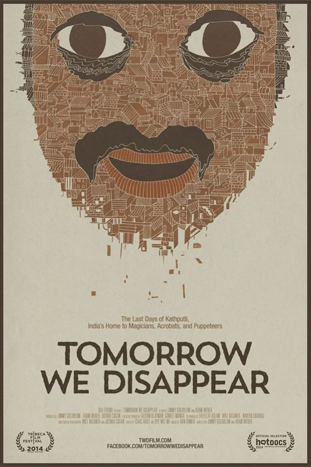 Poster for film: Tomorrow We Disappear.