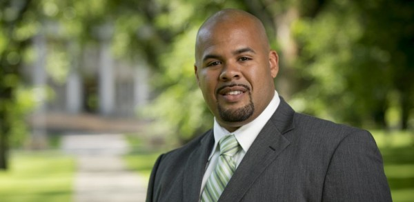 Albert Y. Bimper, Assistant Professor in the Department of Ethnic Studies in the College of Liberal Arts and the Diversity Coordinator in the Athletics Department, August 8, 2013.