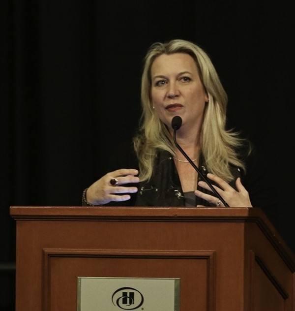 "Cheryl Strayed spoke about her book ""Wild"", as well as some of her other works, Thursday night at the Hilton Hotel in Fort Collins."